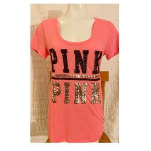 New Victoria's Secret Pink Sequin Top.